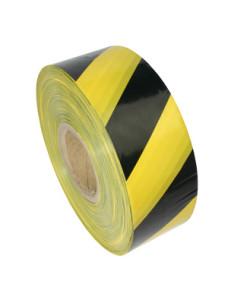 taśma ostrzegawcza żółto czarna