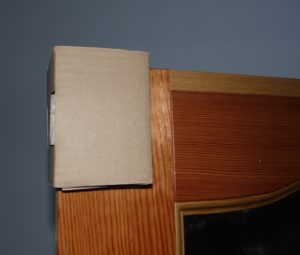 narożnik tekturowy do pakowania drzwi