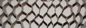 wypelnienie papierowe plaster miodu